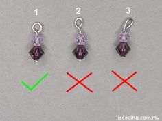 How to make perfect loops - Also see related posts at bottom. #Wire #Jewelry #Tutorial