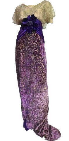 1910 - evening dress