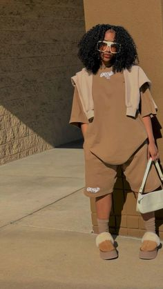 Swag Outfits For Girls, Cute Swag Outfits, Dope Outfits, Teen Fashion Outfits, Black Girl Fashion, Tomboy Fashion, Look Fashion, Streetwear Fashion, Looks Street Style