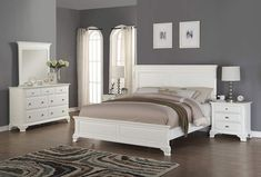 ashley furniture bedroom sets also with a queen size bedroom furniture sets also with a black. full size of bedroom:oak wood queen bedroom set used oak queen bedroom set broyhill . White Wooden Bedroom Furniture, King Size Bedroom Furniture, King Size Bedroom Sets, White Bedroom Set, 5 Piece Bedroom Set, Queen Bedroom, Master Bedroom, Resorts, Luxury Bedroom Sets