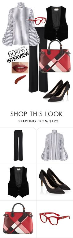"""""""Confidence is my life"""" by riccio-25 ❤ liked on Polyvore featuring Roland Mouret, Caroline Constas, Yves Saint Laurent, Monsoon, Burberry, Dolce&Gabbana, TheBalm, jobinterview and 60secondstyle"""