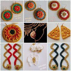 #από_χέρι_σε_χέρι #πλεκτό_κόσμημα #Κλεοπάτρα_Χρήστου #πλεκτο #κοσμημα #χειροποιητακοσμηματα #χειροποιητο #γυναικα #crochetjewellery #woman #handmade #crochet #fashion #accessories #style #art #gift #girl #love #colorful #wearit #Greece #jewel Crochet Earrings, Jewelry, Fashion, Moda, Jewlery, Jewerly, Fashion Styles, Schmuck, Jewels