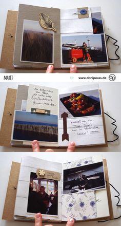 Mini álbum www.danipeuss.de Scrapbooking