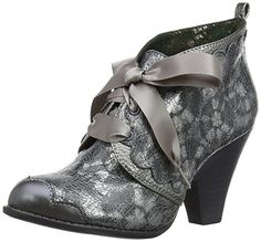 Poetic Licence Womens Birdie Booty Court Shoes 4144-4E-36 Silver 3.5 UK, 36 EU: Amazon.co.uk: Shoes & Bags