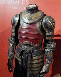 Tywin Lannister armor by paul.hadsall, via Flickr