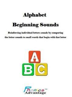 Phonics Advantage Alphabet Beginning Sounds -Reinforcing Letter Sounds
