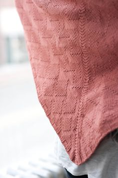 scarves, etc. 2014: brick walk by karalee harding / quince & co chickadee