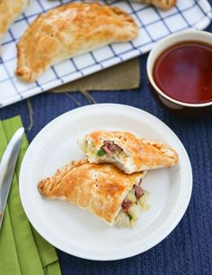 Make Corned Beef and Cabbage Pasties for St. Patrick's Day with this recipe.