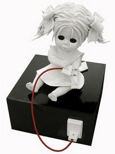 Maria Rubinke Creates Deformed And Bloody Porcelain Doll Figures - Amazingly disturbing porcelain figurines by maria rubinke