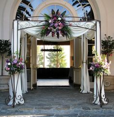 165 best Wedding Stands - Wrought Iron images on Pinterest   Wrought ...
