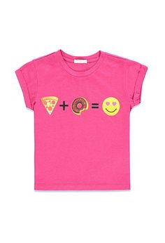 Pizza + Donut Graphic Tee (Kids) | Forever 21 girls - 2000174558