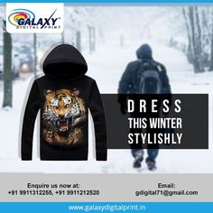 This winter give yourself entirely different panache with warm printed tracksuits. Contact for order- gdigital71@gmail.com  #Tracksuits #Digitalprinting Mug Printing, Digital Prints, Graphic Sweatshirt, Warm, Printed, Sweatshirts, Sweaters, Dresses, Fashion