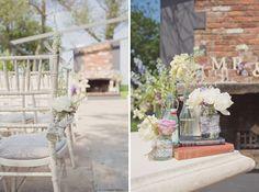Wedding Aisle Flowers  http://www.cottoncandyweddings.co.uk/
