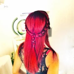 #red #area 12 destroyed #icehairlab #icehalandri #hair #red_hair Ice Hair, Hair Styles, Red, Beauty, Instagram, Beleza, Hair Makeup, Hair Looks, Haircut Styles