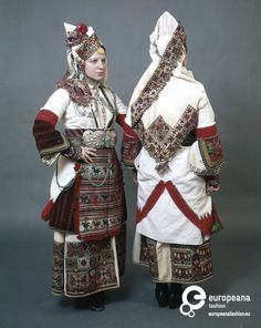 Folk or bridal costume, late 19th century, Episkopi of Imathia, Greece.  Peloponnesian Folklore Foundation.