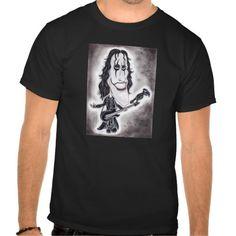 THE CROW Brandon Lee Caricature Drawing on Zazzle #thecrow #crow #brandonlee #1994 #movie #film #dark #gothic #rocker #legend #caricature #revenge #memorabilia #classic #cultmovie #drawing #famous #actor #cool #horror #guitar #funny #cartoon #comics #t-shirt #rock