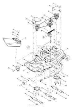 john deere stx38 drive belt diagram Mower belts