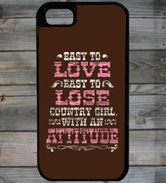 Country Girl Store - Country Girl ® CG Attitude iPhone 5 Phone Case/Cover, $29.95 (http://www.countrygirlstore.com/phone-cases/iphone-5-cases/country-girl-cg-attitude-iphone-5-phone-case)