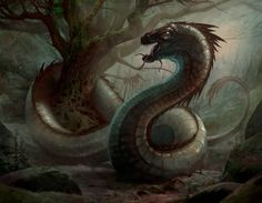 Colchis Dragon - Artwork by Pascal Quidault
