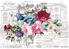 Prima Marketing Inc Redesign Transfer - Imperial Garden, Mixed Prima Marketing, Annie Sloan, Tea Rose Garden, Rub On Transfers, Image Transfers, Iron Orchid Designs, Paint Companies, Dixie Belle Paint, Pintura Country