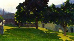 A Summer Day Giovanni Segantini - 1903