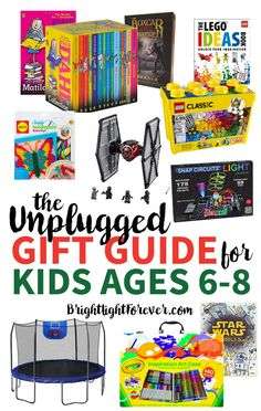 The Unplugged Gift Guide Ages 6 8 Year Old
