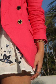 blazer rosa - Pesquisa Google Blazer Shirt, Shirts, Fashion, Pink, Moda, Fashion Styles, Dress Shirts, Fashion Illustrations, Shirt