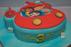 2-D Little Einsteins Rocket cake