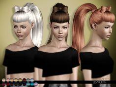 Lana CC Finds - LeahLilith Candy Hair