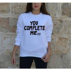 You Complete Mess sweatshirt Luke Hemmings 5sos unisex men women jumper 5 Seconds of Summer also lol ur not By FavoriTee size 14 - XXL