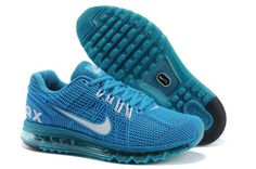 New Air Max 2013 Running Shoes For Men Blue