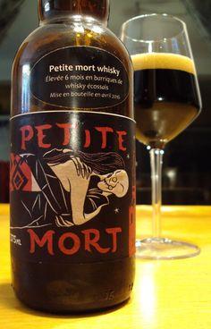 Petite Mort Whisky Brasserie Dunham Facebook Twitter Instagram Style : Stout Impériale Russe (Fut de Scotch Whisky) APV : 11% Température : 10-12+ °C Détaillant : La Voûte du Malt Apparence : D…