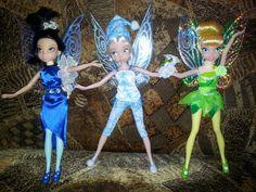 Silvermist,Periwinkle,Tinkerbell dolls from Jakks Pacific