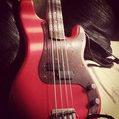 Fender Custom Shop Pino Paladino Signature P Bass #fenderguitars #fender #fenderbass