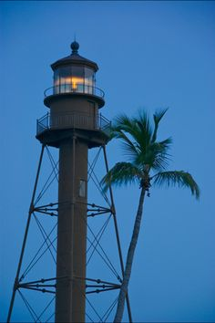 Lighthouse in Sanibel, USA   we hope to see this in sept