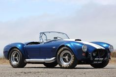 1967 Shelby Cobra 427 got a more powerful eight-cylinder engine with the displacement of 427 cubic feet / 7.0 liters, 4-speed transmission...Price today are