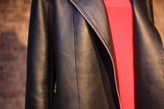 ALLSAINTS Spring 2014. Leather detail. #ALLSAINTSNYFW
