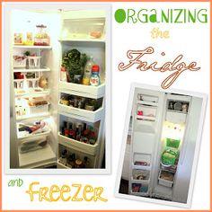 Sweeter Still: Organizing a side by side fridge