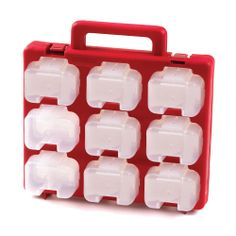 Model MSC18H #Small #Parts #Storage #Carry #Case Ideal for all your small parts storage ,complete with 18 individual removable #containers which have their own divider & belt clip  See more at: http://shop.hsil.co.uk/p-4267-small-parts-storage-carry-case.aspx#sthash.xj59rHFx.dpuf