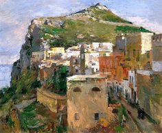 Theodore Robinson - Capri (1890), oil on canvas