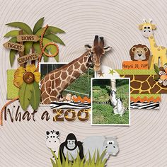 What a zoo - Scrapbook.com
