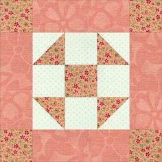 Philadelphia Pavement Quilt Block Pattern
