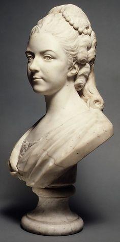 Félicité Sophie de Lannion, duchesse de La Rochefoucauld, at the Age of 29 Years (1745–1830), by Jean -Baptiste Lemoyne the Younger (1704-1778)