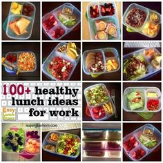 Over 100 of the best packed lunch ideas for work. Taking lunch to the office? Packing meals for a long work day? I've rounded up some of the best posts featuring adult lunch box ideas. Healthy Snacks, Healthy Eating, Healthy Recipes, Clean Recipes, Lunch Recipes, Cooking Recipes, Eat Better, Little Lunch, Snacks Saludables