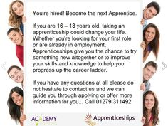 Academy of Learning helping Essex's young people to get access to an apprenticeship.