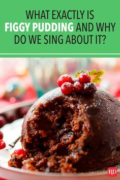 Our brief history lesson solves the mystery of this boozy holiday treat. We bet you didn't know it was even banned at one point! #figgypudding #christmas #christmashistory #funfacts