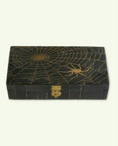Scrimshaw Spiderweb Box from Victorian Trading Co.