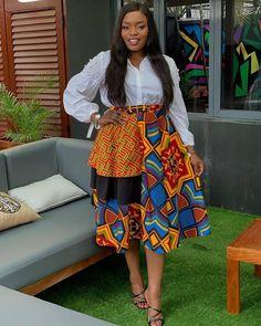 Ankara skirt you will love Ankara Styles For Women, Beautiful Ankara Styles, Latest Ankara Styles, Latest African Fashion Dresses, African Print Fashion, Ankara Fashion, African Prints, Nigerian Fashion, Africa Fashion