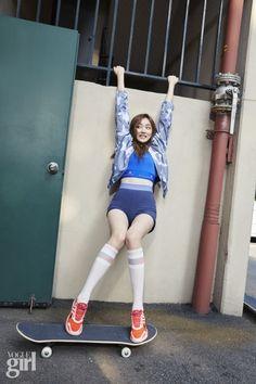 Lee Sung Kyung - Vogue Girl Magazine August Issue '15