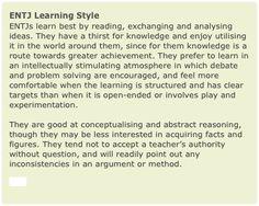 ENTJ Learning Style